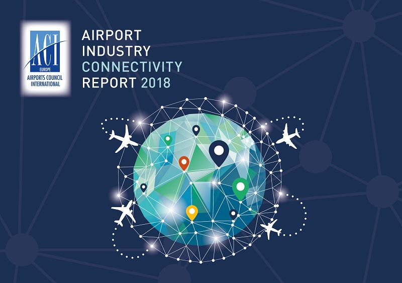 Front cover of the Connectivity Report 2018